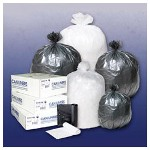 Integrated Bagging Systems IBS High-Density Black Can Liners, 55 Gallon