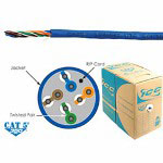 ICC CAT5e CMR PVC Cable - Blue
