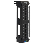 ICC 12 Port CAT 5E Vertical Patch Panel