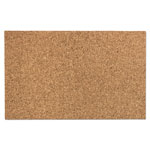 "Iceberg Designer Cork Bulletin Board, 24"" x 38"", Natural"