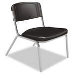 "Iceberg Stack Chair, 250 lb Capacity, 26""x27x32"", Washable, Black"