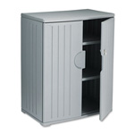 "Iceberg OfficeWorks Storage Cabinet, 46""-High, 36"" x 22"", Dark Gray"
