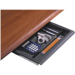 Iceberg Aspira Workstation Utility Drawer, Charcoal, 14w x 14 1/2d x 1 1/2h