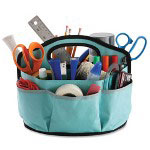 Ideastream Supply Caddy, w/ Hook and Loop Pockets, 28 Pockets