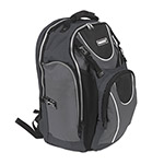 Vaultz Locking Backpack, 15 x 7 x 19, Black