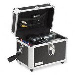 Ideastream Vaultz Secure Storage Camcorder Case, Sturdy Locking Case, Black