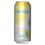 Inko's Ready-To-Drink Half and Half Green Tea Lemonade, 15.5 oz Can, 12/Box
