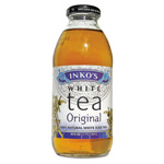 Inko's Ready-To-Drink Original White Tea with Ginger, 16 oz Bottle, 12 per Carton