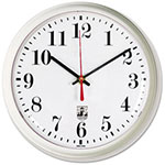 Chicago Lighthouse SelfSet Wall Clock, 9-1/4in, White