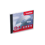 Imation CD R 80 Minute (700 MB) (52x) With Standard Jewel Case