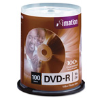 Imation DVD R, 4.7GB, 16x, 100/Pack