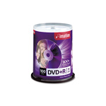 Imation DVD+R Recordable Disc, 16x, 4.7 GB, 100/Pack