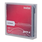 "Imation 1/2"" Ultrium LTO-6 Cartridge, 2538 ft, 2.5TB Native/6.25TB Compressed"