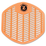 Impact Z-Screen Deodorizing Urinal Screen, Citrus Zest, Orange