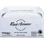 Impact Toilet Seat Covers, 100 Pack, 4 PK/CT, White