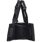 Impact Basic Back Support w/Suspenders, Lg,10BG/CT, Black