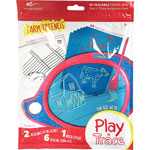 "Improv Electronics Boogie Board Play n' Trace Accessory Pack, Farm Friends, 9""Wx12""Lx12""H"