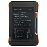 "Improv Electronics Boogie Board Sync LCD eWriter, 9.7"" Screen, Black/Orange"