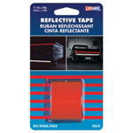 "Incom Reflective Safety Tape, Red, 1-1/2"" x 40"" Roll, Highly Reflective, Engineer Grade"