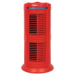 Therapure TPP220M HEPA-Type Air Purifier, 70 sq ft Room Capacity, Three Speeds, Red