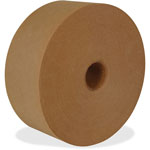 "Intertape Reinforced Water-Activated Tape, 2.83"" x 450', Natural"