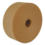 "Intertape Reinforced Water-Activated Tape, 3"" x 450', Natural, 10/Carton"