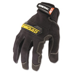 Ironclad General Utility Spandex Gloves, 1 Pair, Black, Large