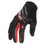 Ironclad Touchscreen Gloves, Black/Red, Large