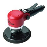 "Ingersoll Rand Heavy Duty Air Dual Action Quiet Sander w/6"" Pad"