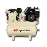 Ingersoll Rand Two Stage Type 30 Gas Driven 12.5HP Air Compressor W/O Alt.