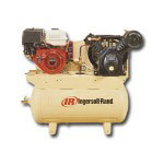 Ingersoll Rand Two Stage Type 30 Gas Driven Air Compressor w/ alt.