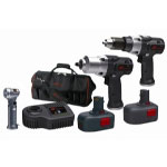 Ingersoll Rand 14.4 Volt IQv Series Drill and Impactool Combo Kit