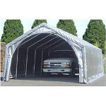 Jewett Cameron Peak Roof Instant One Car Garage 24' x 12' x 9'