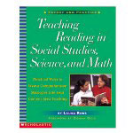 Scholastic Teaching Reading In Social Studies, Science And Math, Grades 3 And Up
