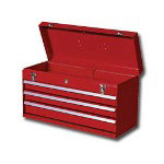 "International Tool Box 21"" 3 Drawer Portable Chest"
