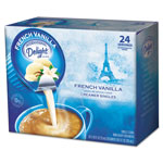 International Delight Flavored Liquid Non-Dairy Coffee Creamer, French Vanilla, .3oz Cup, 24/Box