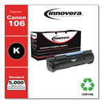 Innovera 106 Compatible, Remanufactured, 0264B001AA (106) Toner, 5000 Yield, Black