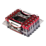 Innovera Alkaline Batteries, AA, 48/Batteries/Pack