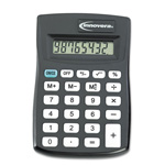 Innovera Pocket-Sized 8 Digit Calculator, Black