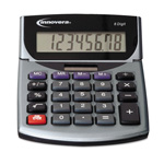 Innovera 15925 Minidesk Calculator, LCD Display, Battery/Solar Power