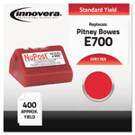 Innovera Ink Cartridge for Pitney Bowes Personal Post Office™ E700/E707 Postal Meter, Red