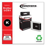 Innovera 20051 (LC51BK) Inkjet Cartridge, Black