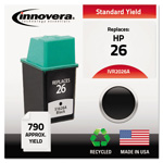 Innovera Replacement Ink Jet Cartridge, Black