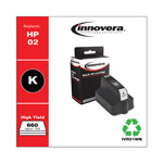 Innovera 21Wn (C8721Wn, 2) Inkjet Cartridge, Black