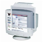 Innovera Privacy Antiglare, Antistatic, Antiradiation Crt Monitor Filter, 13-15, Gray