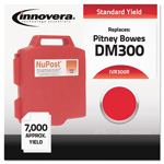 Innovera Ink Cartridge for Pitney Bowes DM200, DM300 and DM400 Postage Machines, 300R