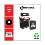 Innovera 35WN (CB335WN, HP74) Compatible Remanufactured Inkjet Cartridge, Black