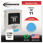 Innovera 4836A (C4836A, 11) Compatible Remfg Cyan Inkjet Cartridge, 1,750 Pages