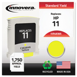 Innovera 4838A (C4838A, 11) Compatible Remfg Yellow Inkjet Cartridge, 1,750 Pages