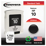 Innovera 4844A (C4844A, 10) Compatible Remfg Black Inkjet Cartridge, 1,750 Pages